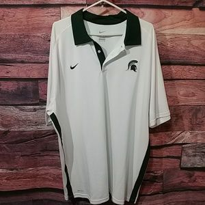 Dri-Fit Nike Pullover button down shirt XXL